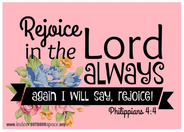 photograph regarding Printable Bible Verses Pdf identified as Free of charge 5x7 pdf printable bible verse of Philippians 4 Celebrate