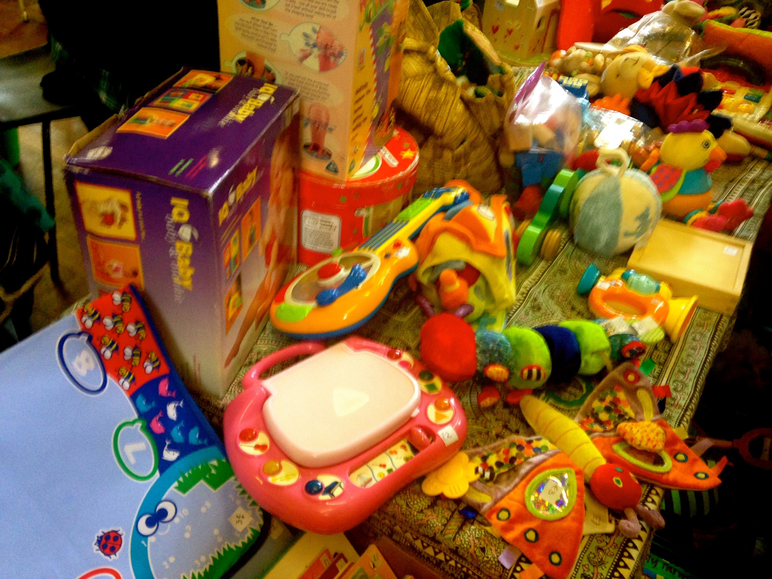 Fantastic second hand toys for less at Clapham s Nearly New Sales