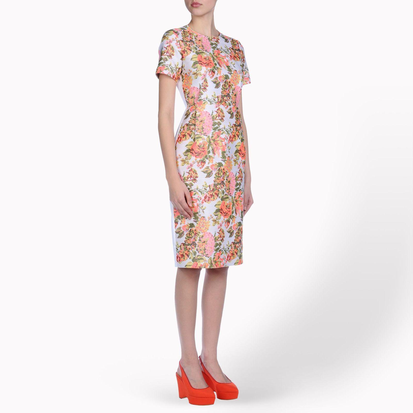 Gojee  Ridley Jacquard Floral Dress