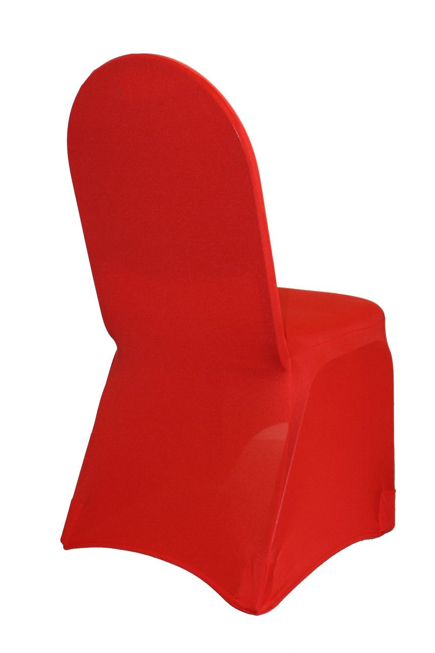 stretch chair covers for folding chairs gray velvet and a half spandex banquet cover red autumn wedding in
