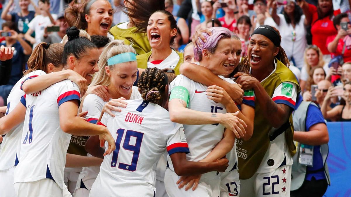 The ENTIRE US Women's National TEAM are BADASS 😳😍 It's a