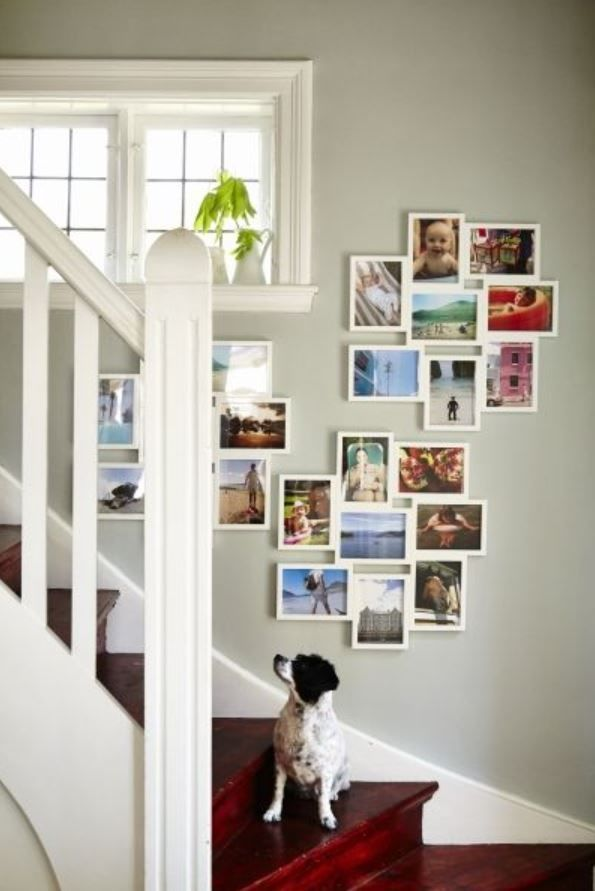 Ikea växbo collage frame for 8 photos, white, beautiful plastic ...