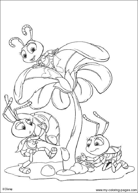 Bugs Life Disney Coloring Pages Bunny Coloring Pages Bug