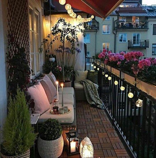 Pin von Doris Bonilla auf Muebles | Pinterest | Balkon, Balkon ideen ...