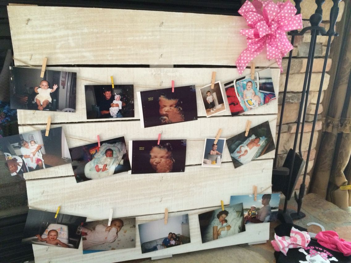 Photo Board For Baby Shower Put Ultrasound Pictures And Pictures Of Mom And Dad As Babies Baby Shower Pictures Baby Shower Dad Baby Boy Shower