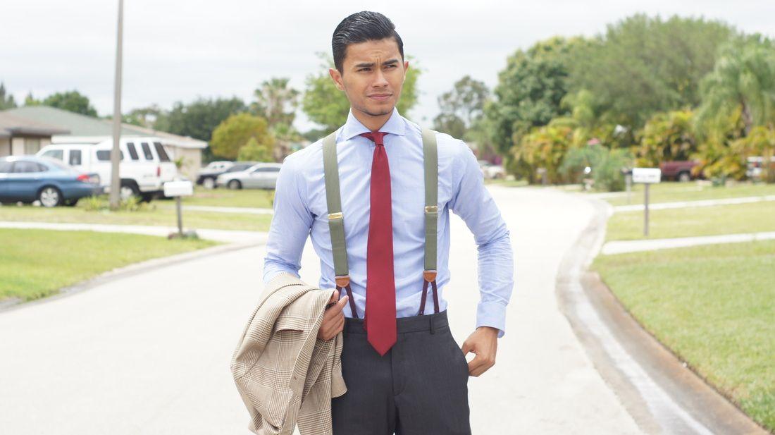 Suspenders to Prom