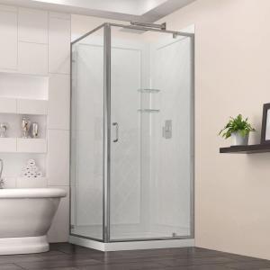 Dreamline Flex 32 In X 76 75 Framed Corner Shower