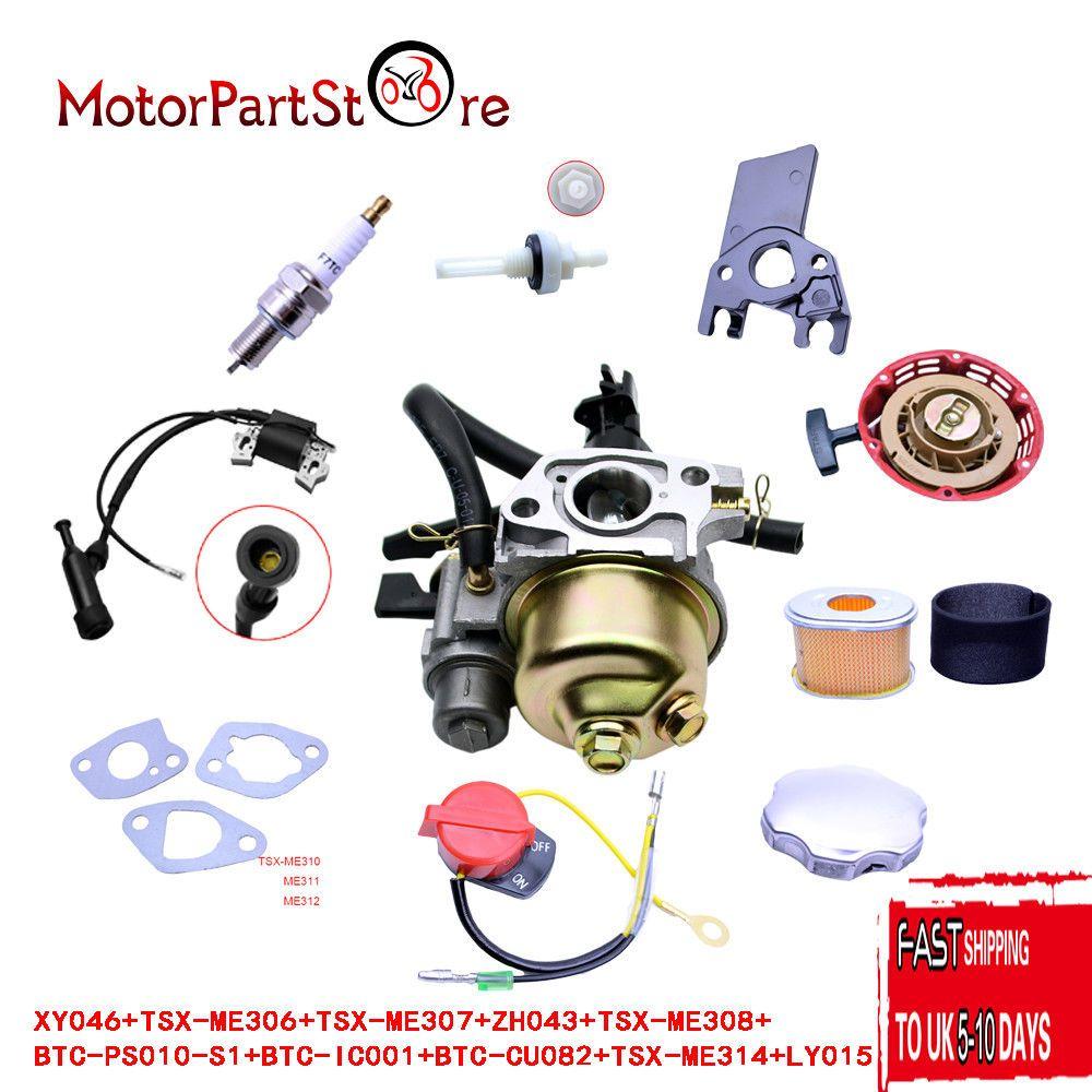 For honda gx160 gx200 recoil carburetor ignition spark