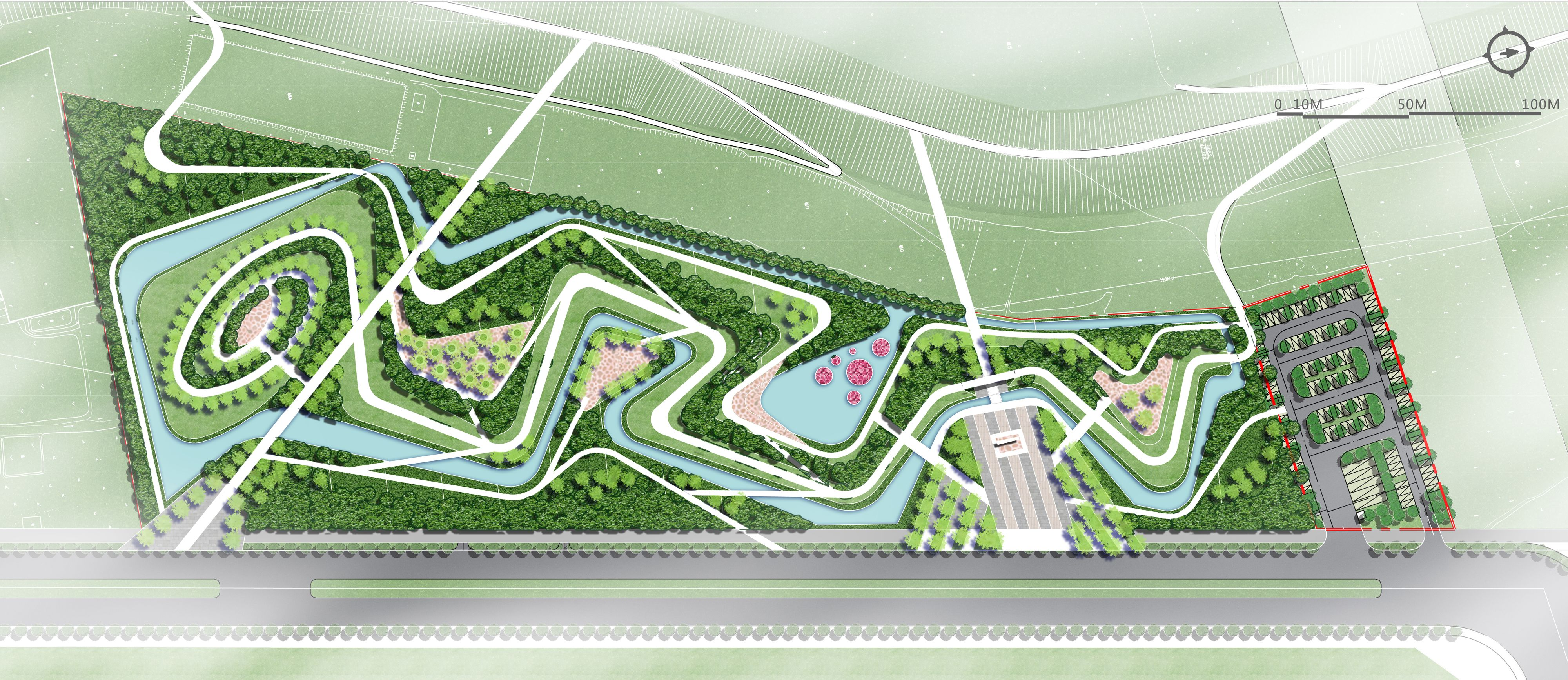 Landscape Plans Designs Contemporary Master Plan Architects Landscaping Park Urban Design Style