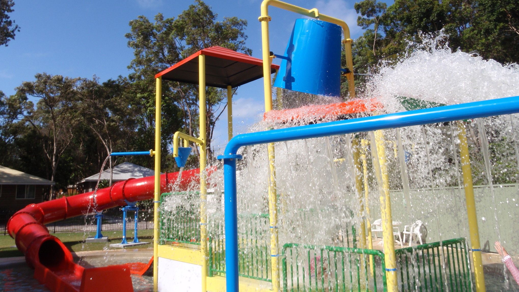 BIG4 Bonny Hills has great activities for both adults and kids to make your stay fun. swimming pools, putt putt golf, inflatable trampoline, karts for hire, table tennis #big4bonnyhills #portmacquarie #camping #caravanning