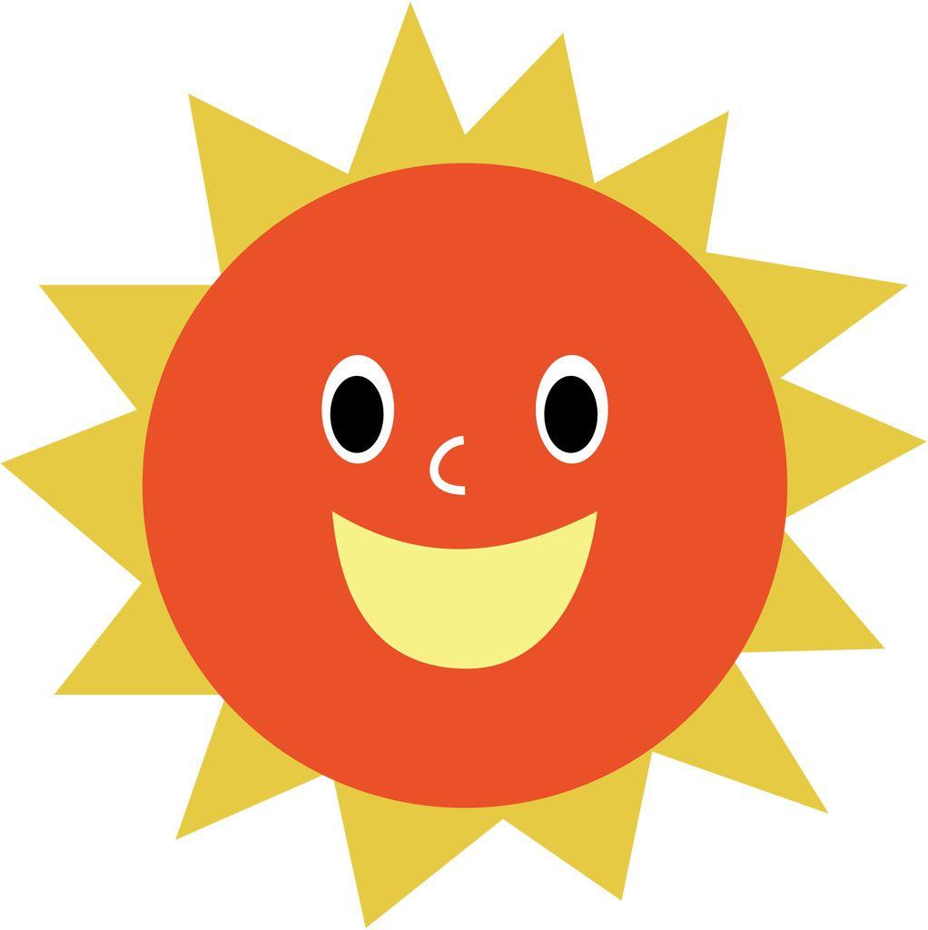 フリーイラスト, ベクトルデータ, ai, 天体, 太陽, 天気, 晴れ, 晴天