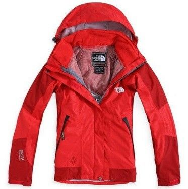The North Face Gore Tex Womens Jacket University Red