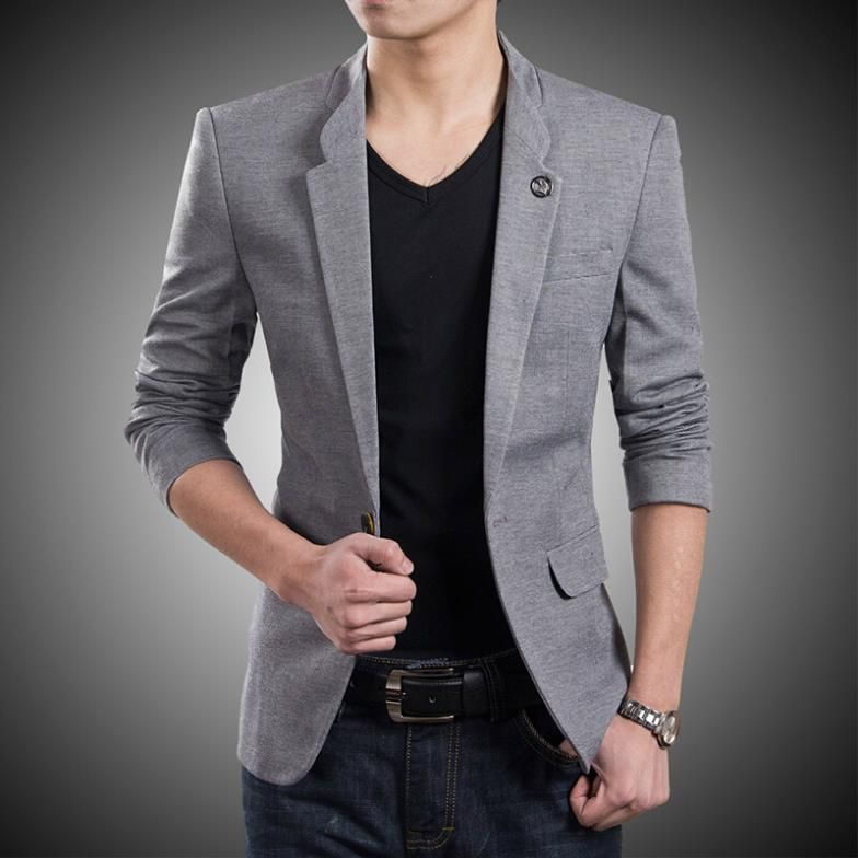 Mens Casual Blazer Photo Album - Reikian