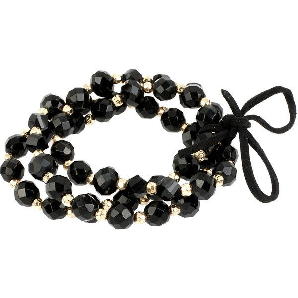 Mixit Mixit 3-Row Stretch Bead Bracelet
