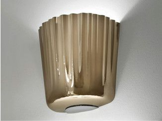 Blown glass wall lamp cloth ap vetreria vistosi lamps