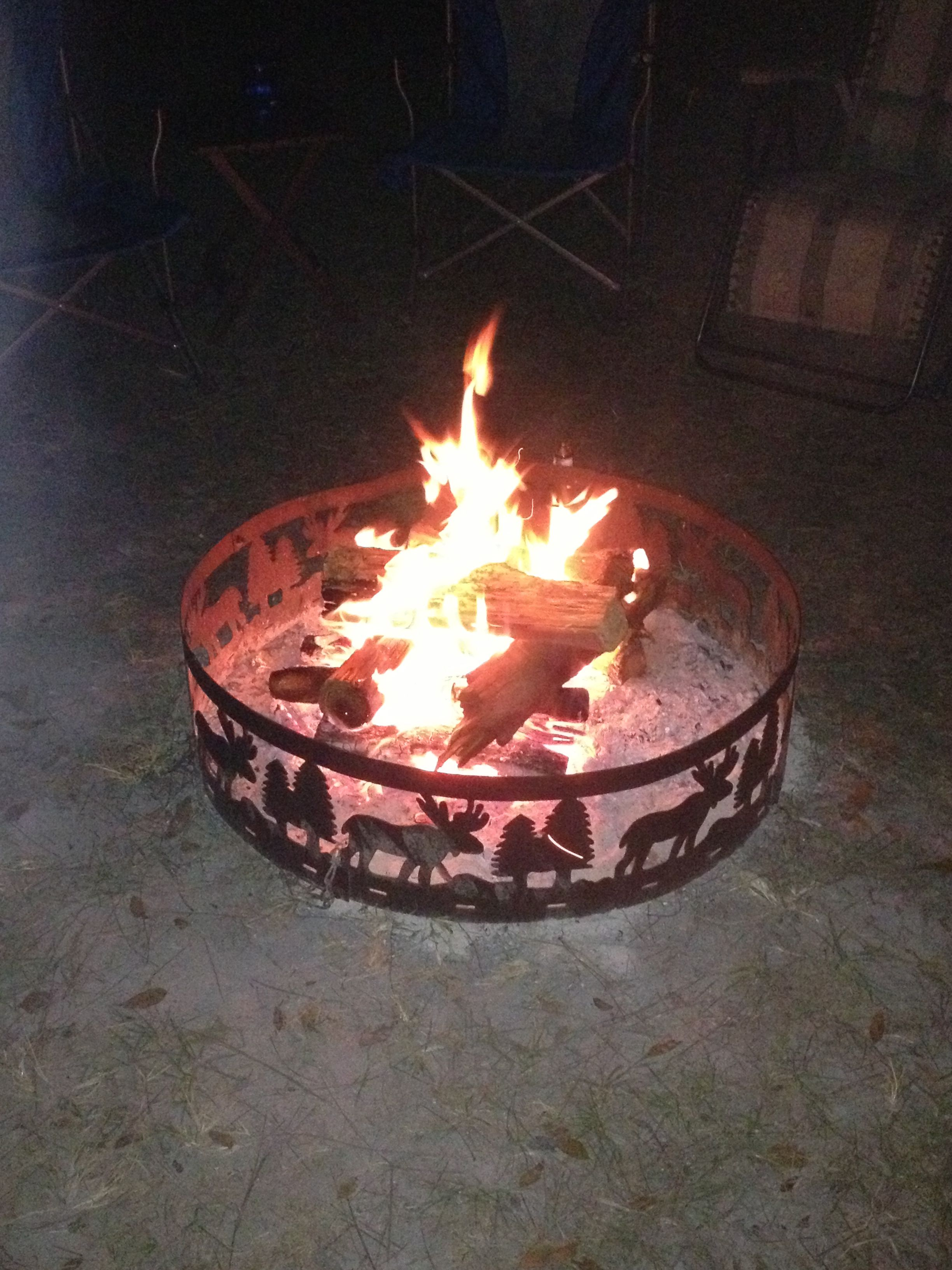 Nothing beats a good campfire...
