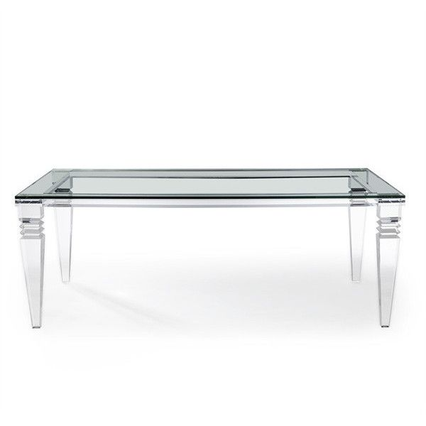 Savannah Dining Table Design By Interlude Home ($6,750) ❤ Liked On Polyvore  Featuring Home