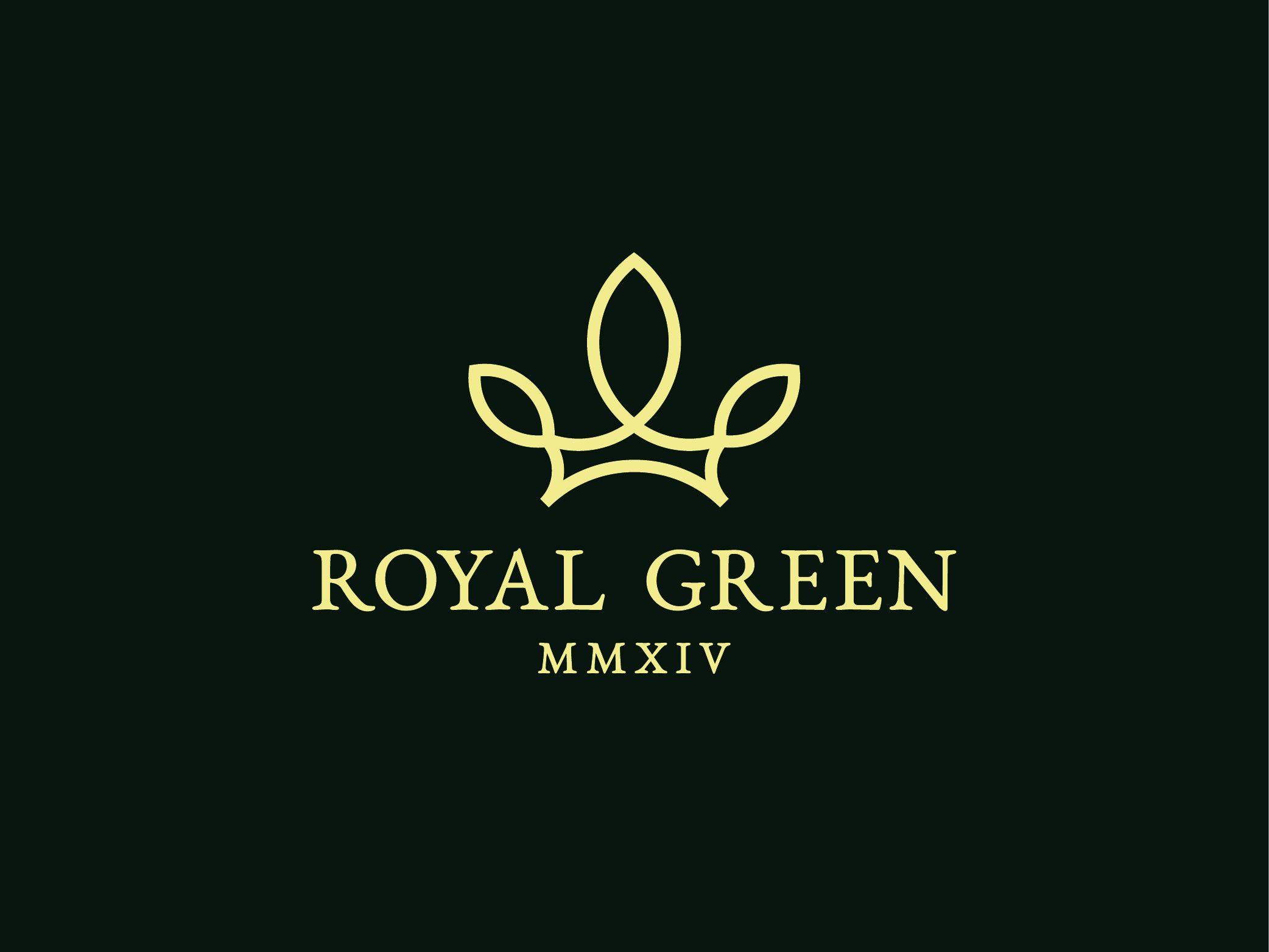 Royal Green Royal Green Minimalist Logo Geometric Alphabet