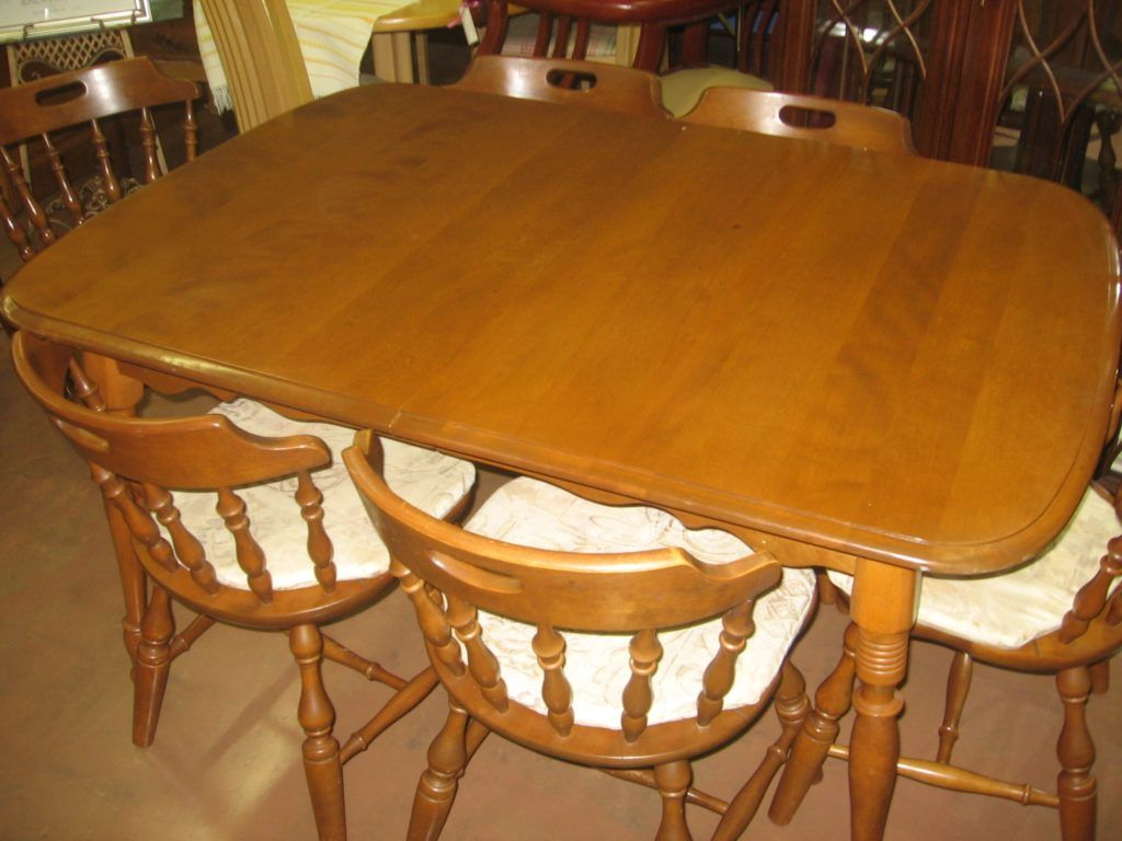 Vintage Maple Kitchen Table Maple Dining Table Maple Furniture Dining Table