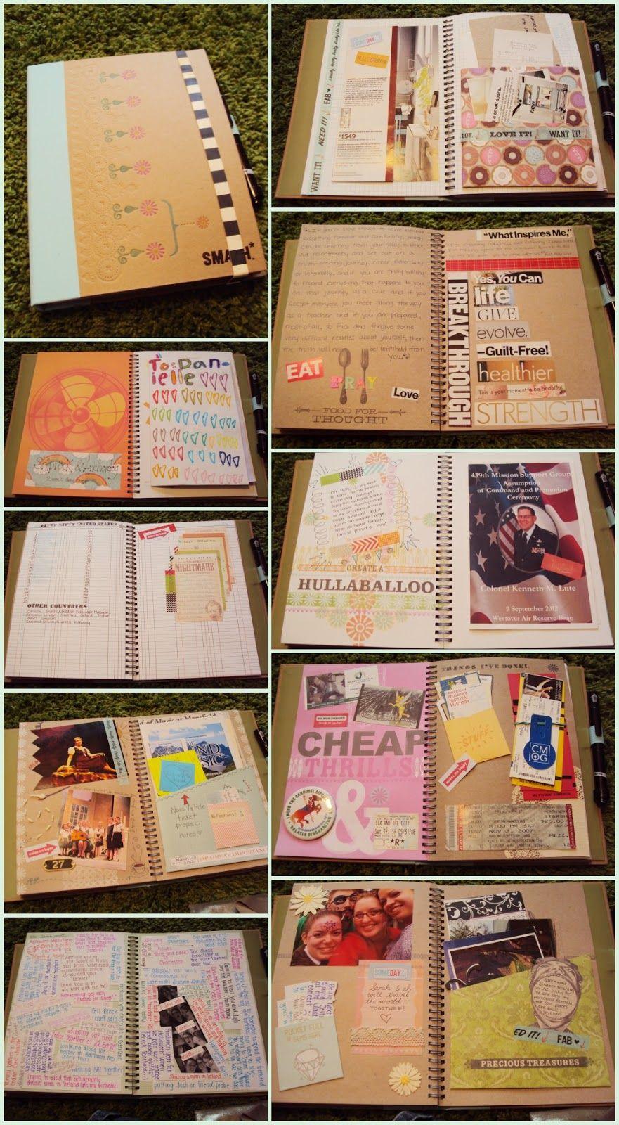 I Like Boring Things How Smashing Smash Book Diy Travel Journal Smash Journal