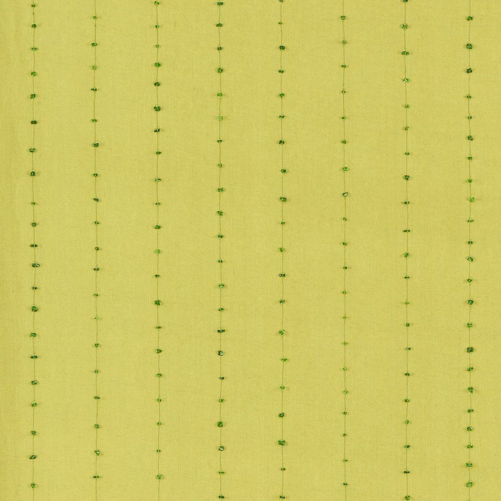 Sanderson- Ionia Emerald- beautiful fabric with little beads-used in a project for a blind
