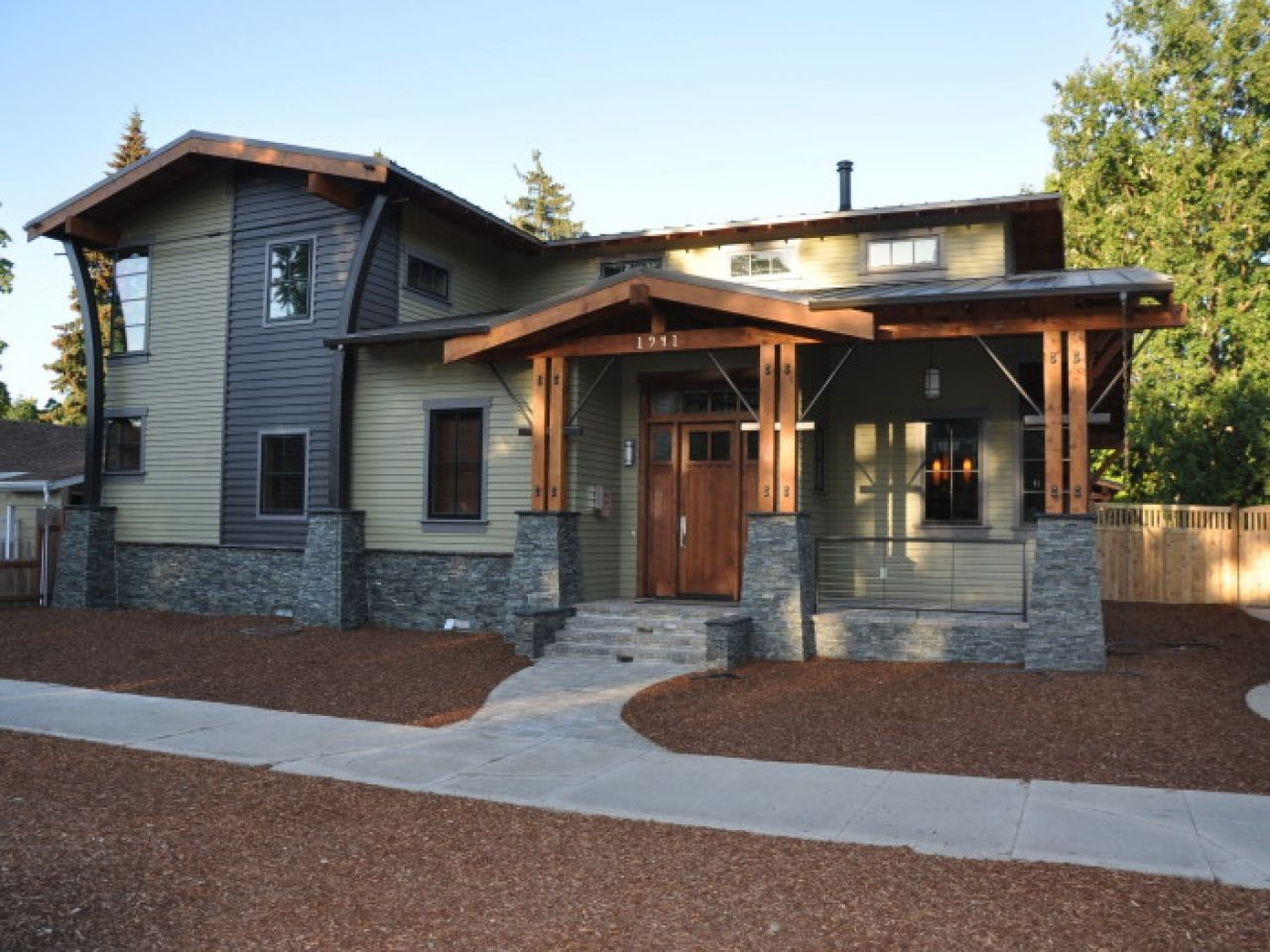 1000 Images About House Exterior Styles On Pinterest Modern Sears