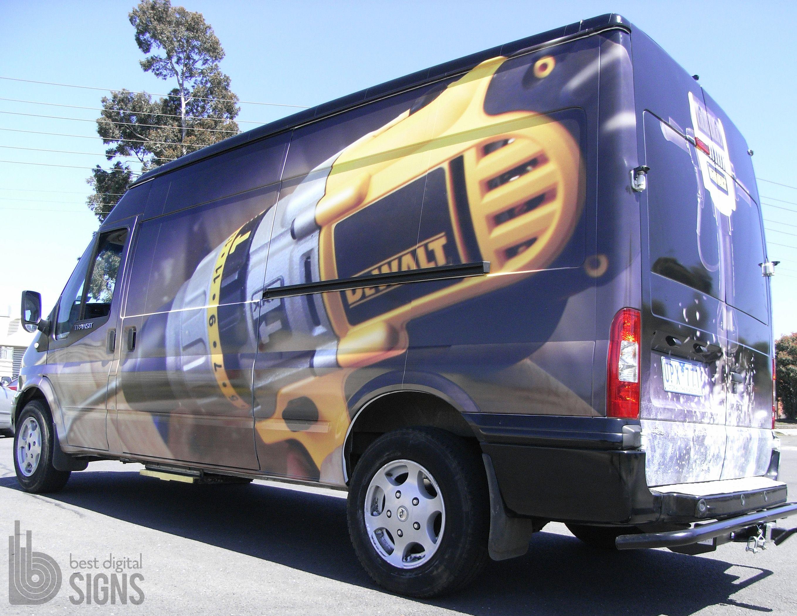 Full Van Vinyl Wrap Best Digital Signs Vinyl Wrap Vans Vinyl