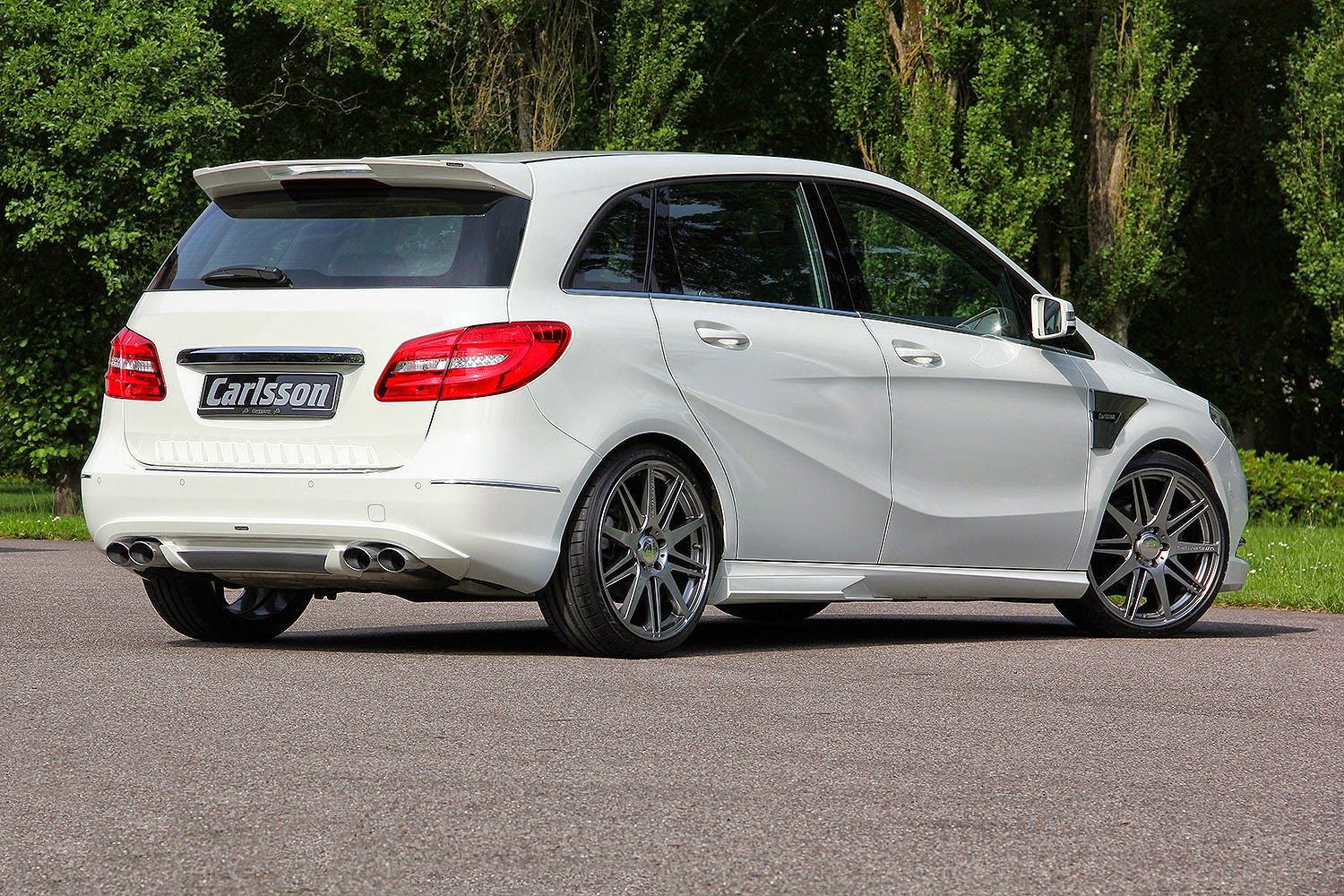 Mercedes Benz B Class W246 By Carlsson Mbhess Mbtuning 改造 クラシック 旅