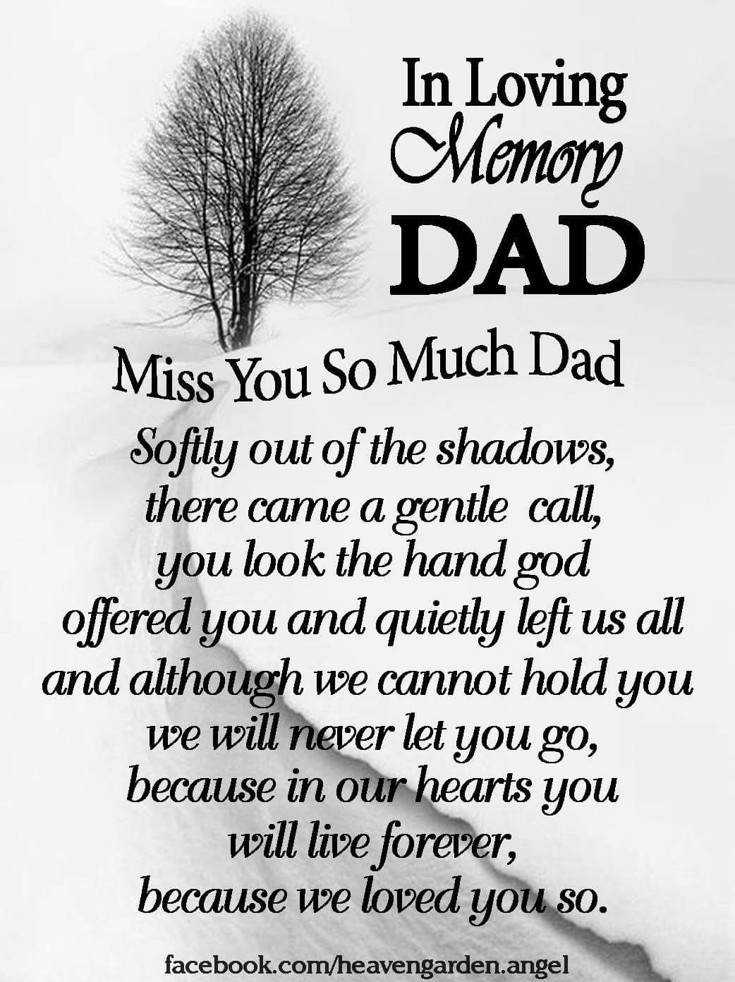 In loving memory Dad Dad quotes, Miss you dad quotes, I