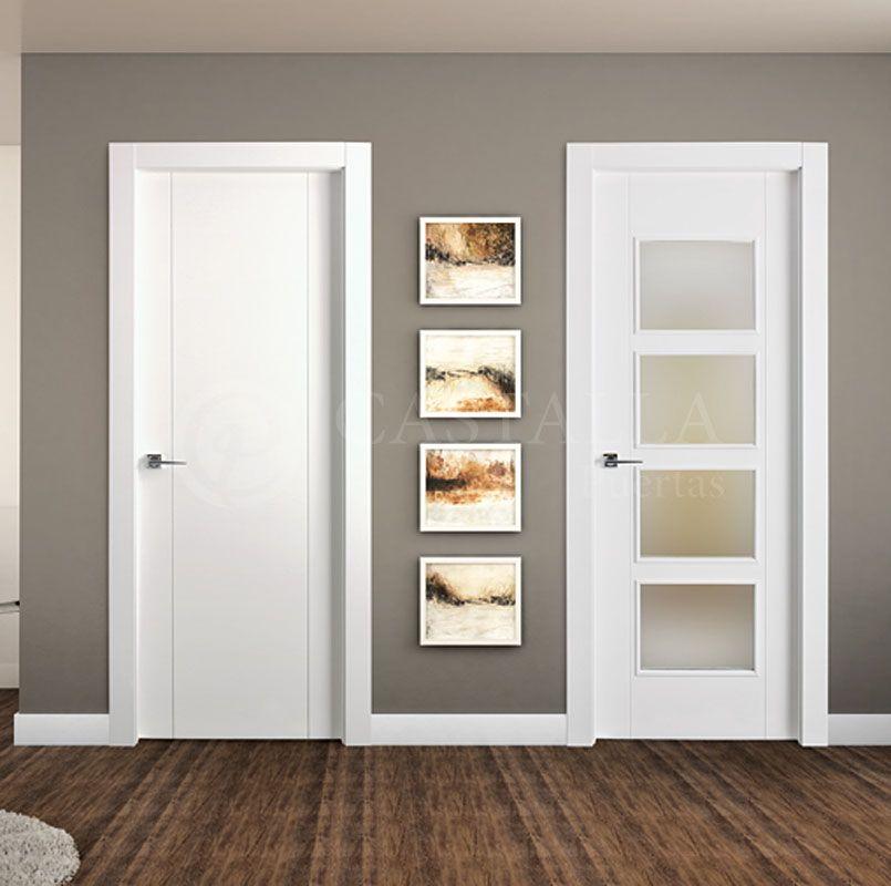 Serie Euro Mod Rubi Cristalera Puertas Interiores Puerta De Interior Puertas Castalla Te Ofrece La Posi Doors Interior Door Design Modern Door Design