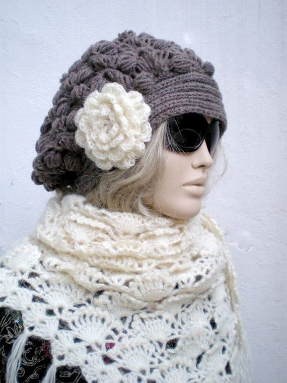 crochet slouchy hats - Bing Images | crochet hats | Pinterest