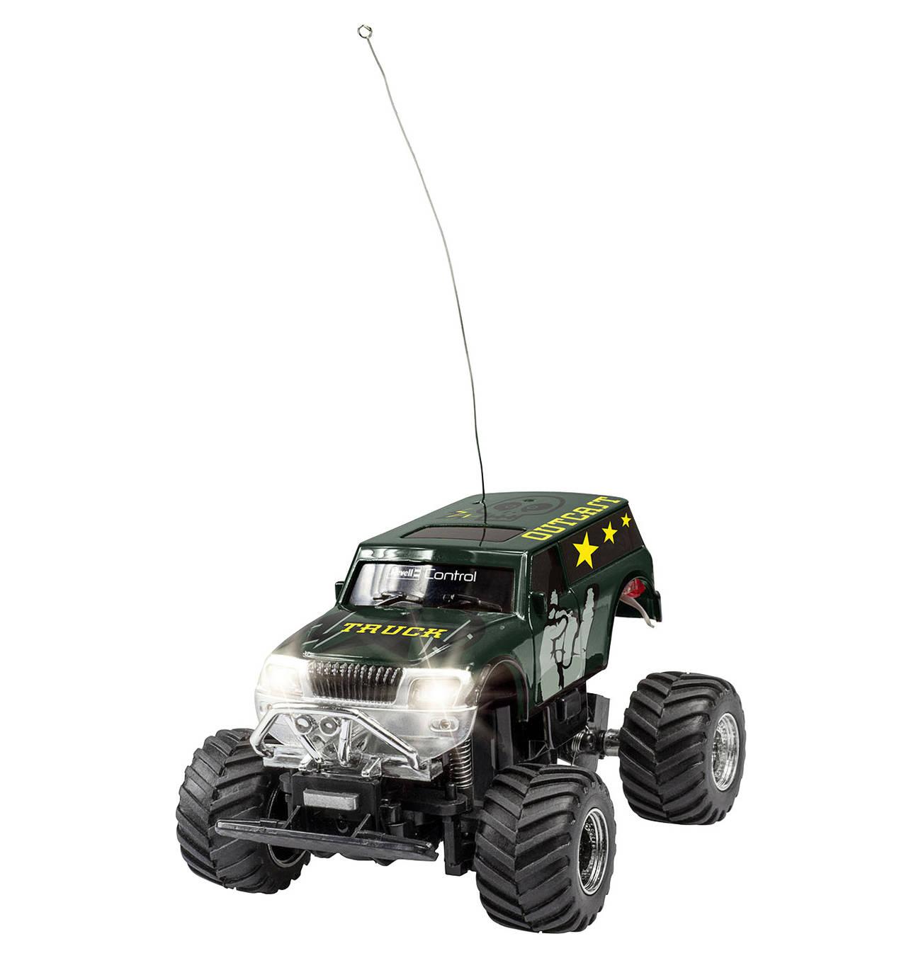 Mini Rc Truck Outcast 2ch 27mhz Controller Rc Autos Fahrzeuge Hinterachse