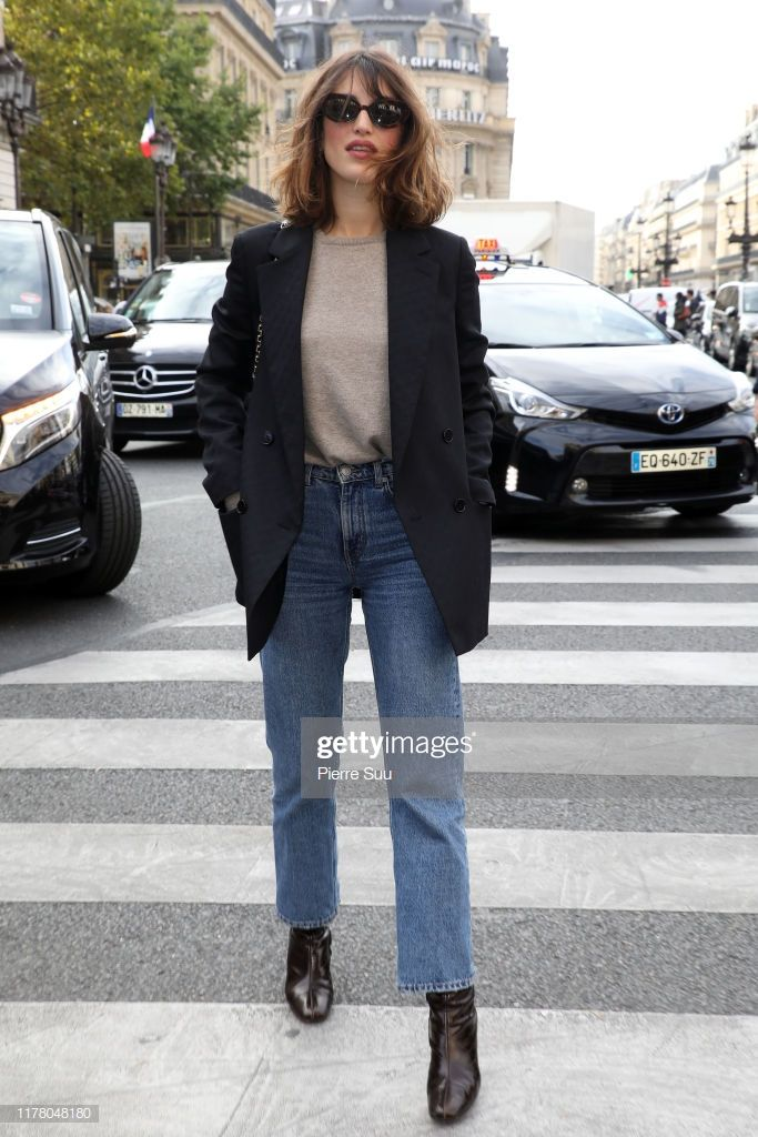 Jeanne Damas attends the Stella McCartney Womenswear Spring/Summer...