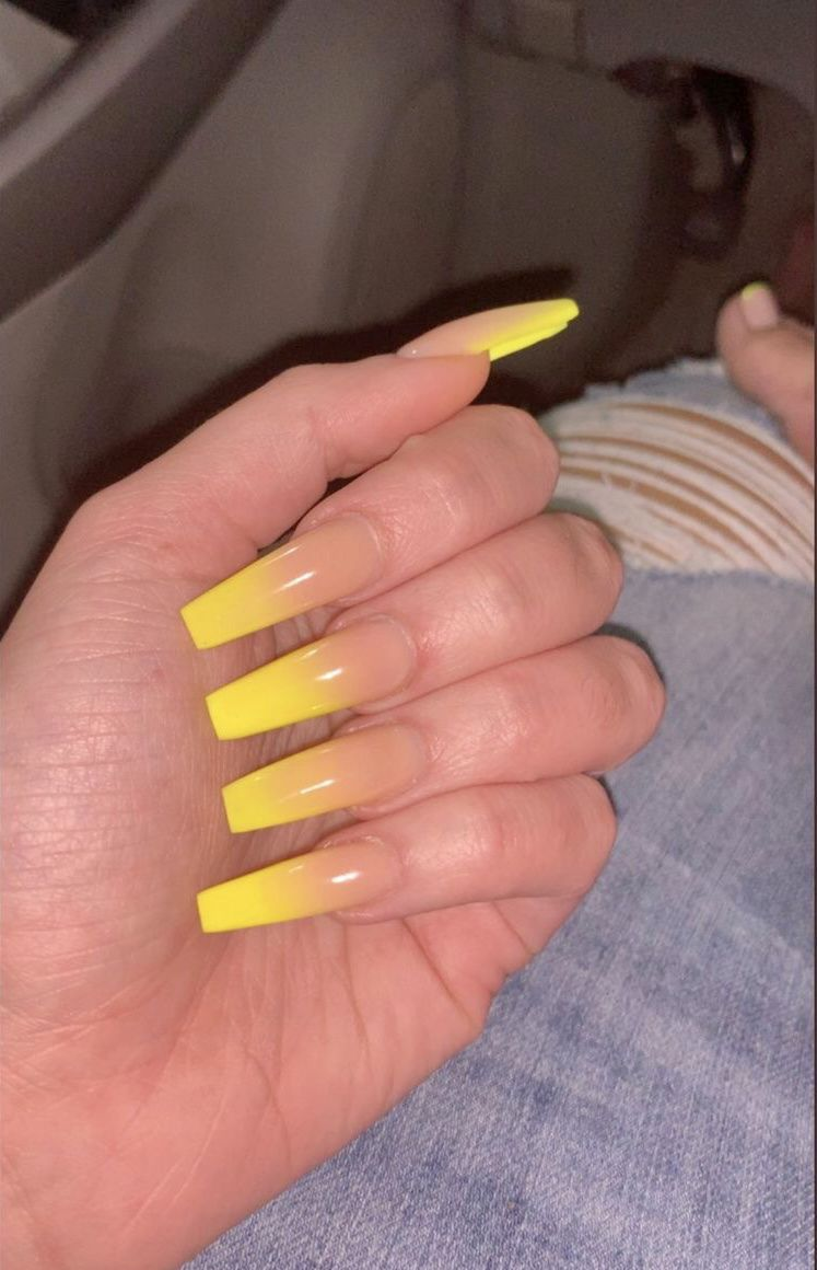 Over 50 Bright Summer Nail Art Designs That Will Be So Trendy All Season Ecemella Ombre Acrylic Nails Acrylic Nails Summer Acrylic Nails