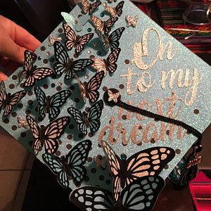 Custom Graduation Cap, Custom graduation cap topper, graduation cap