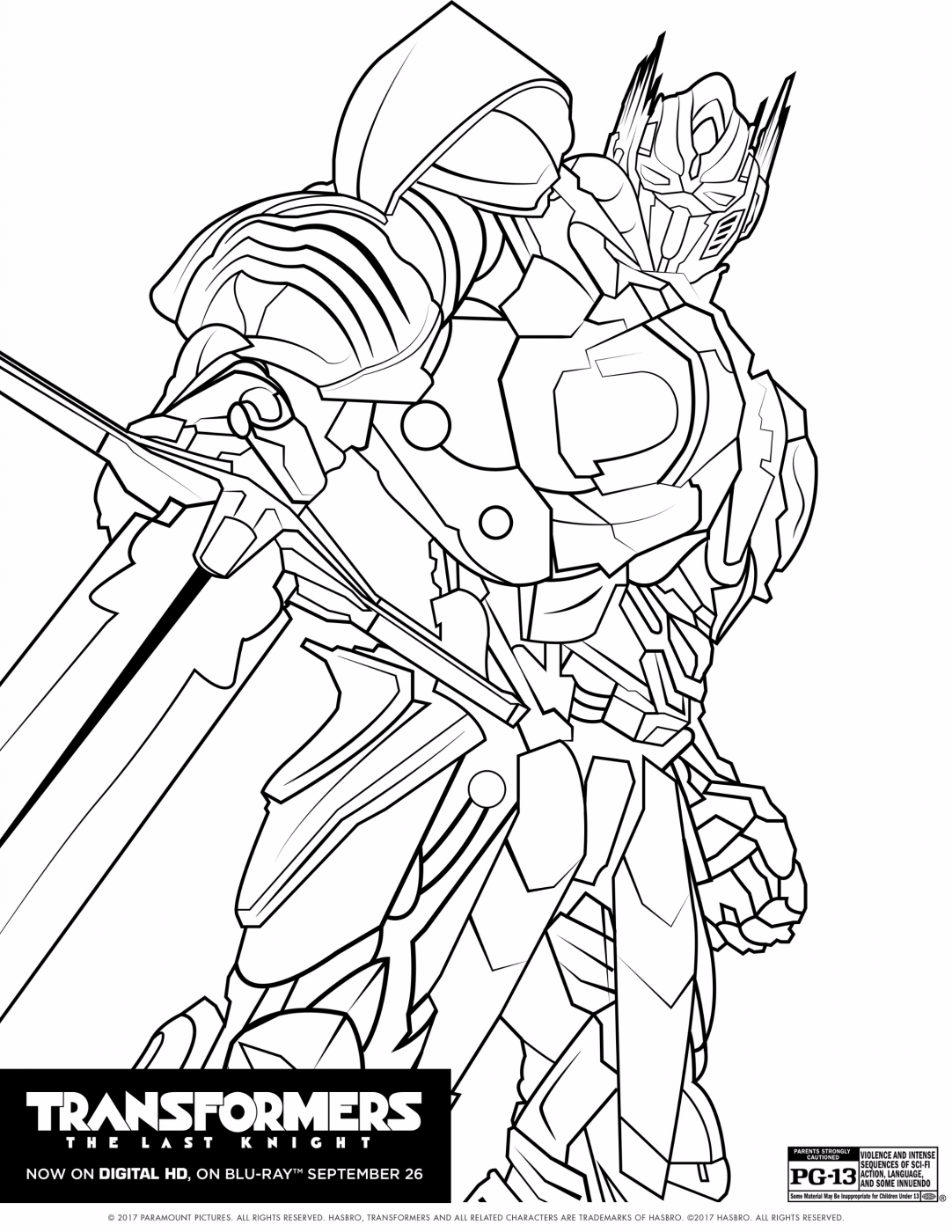 Transformers The Last Knight Coloring Sheet Transformers Coloring Pages Shark Coloring Pages Superhero Coloring Pages