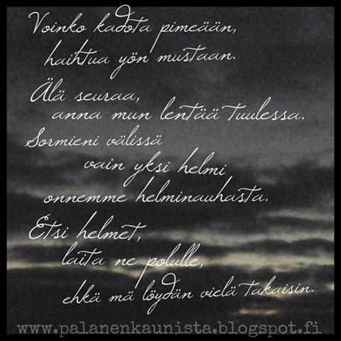 Yksinäisyys Runo