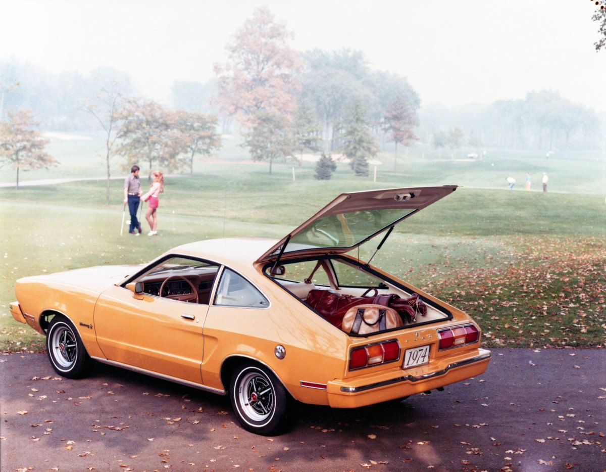 1974 mustang ii hatchback my first car same color kgd