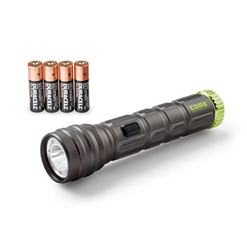 Core 500 Lumen Cree Led Flashlight Red Multicolor Aluminum 4 Aa Batteries You Can Find More Details By Visiting The Image Link Cree Led Flashlight Cree