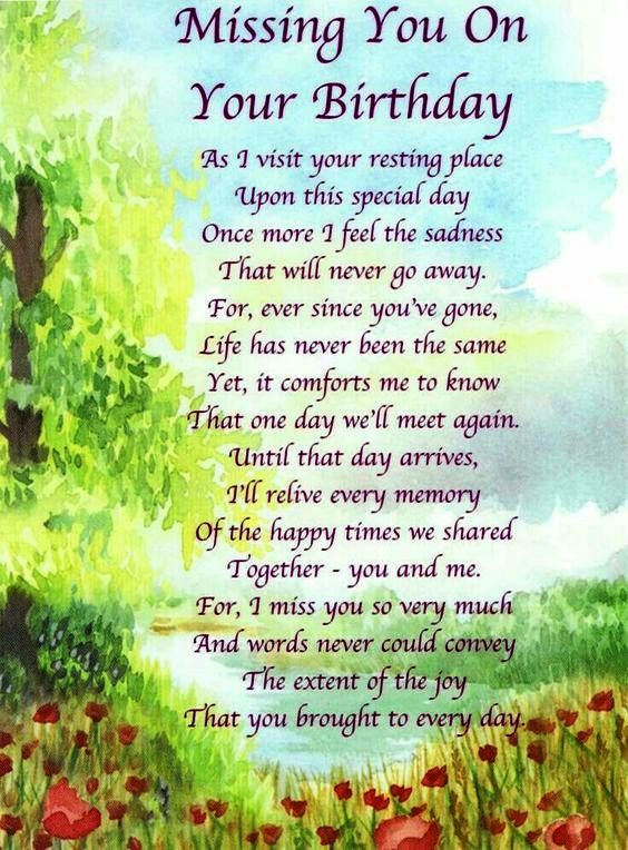 Happy Birthday In Heaven Sister Miss You Quotes From Families I