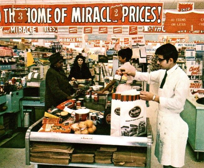 Late 60's photo of an Eisner supermarket