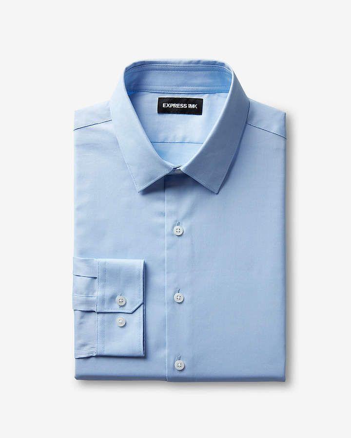12a4e2474b1 Express Classic Easy Care Oxford 1Mx Shirt