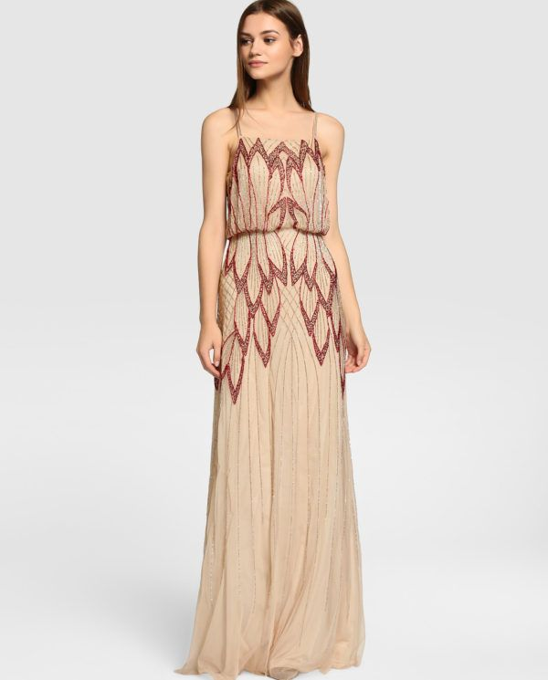 Vestido largo tintoretto el corte ingles vestidos  18f4a1332639