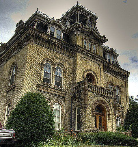 Gothic Style Homes gothic style mansion | romantic houses | pinterest | gothic house