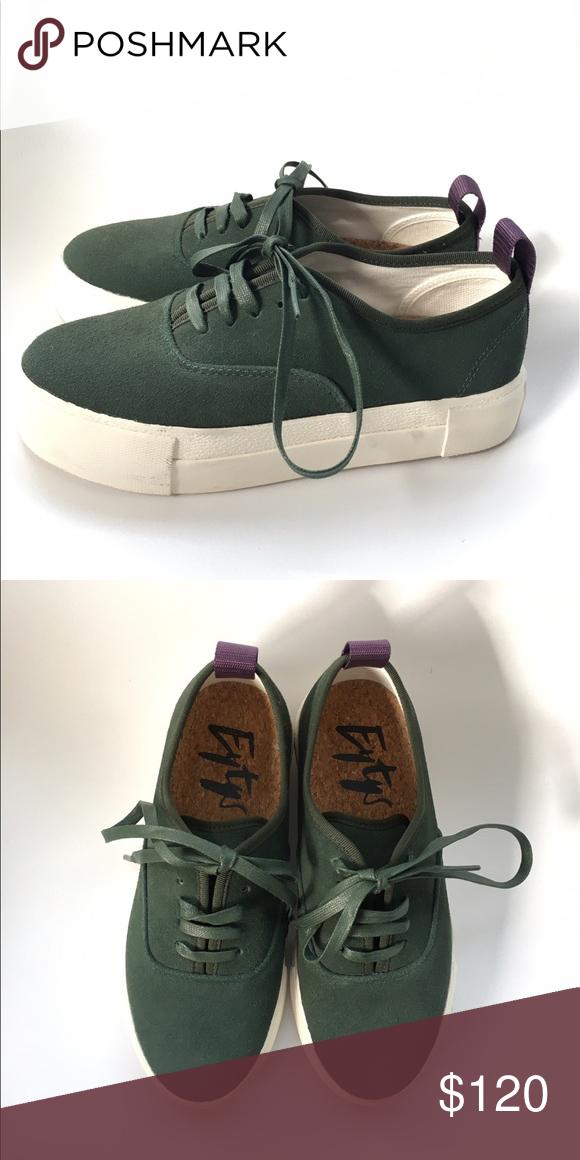 EYTYS Mother Suede Sneaker in green