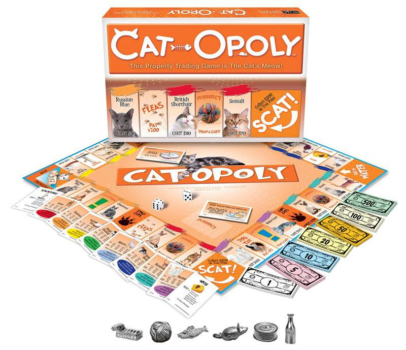 CatOpoly Buy a cat, Cat gifts, Cat lover gifts