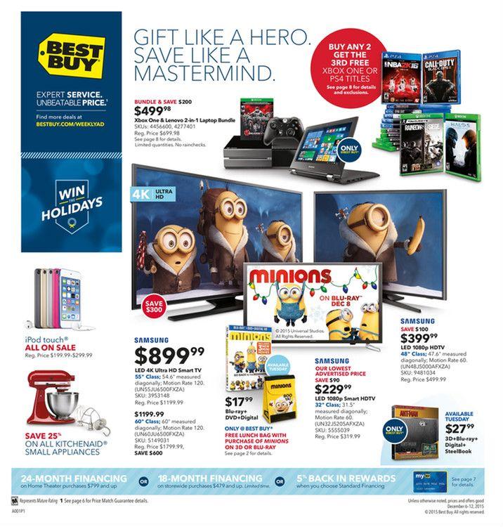 Best Buy Weekly Ad November 29 December 5 2015 Weekly Ads And Circulars November 2015 Us Retailers And Groceries Postin Cool Things To Buy Weekly Ads Ads