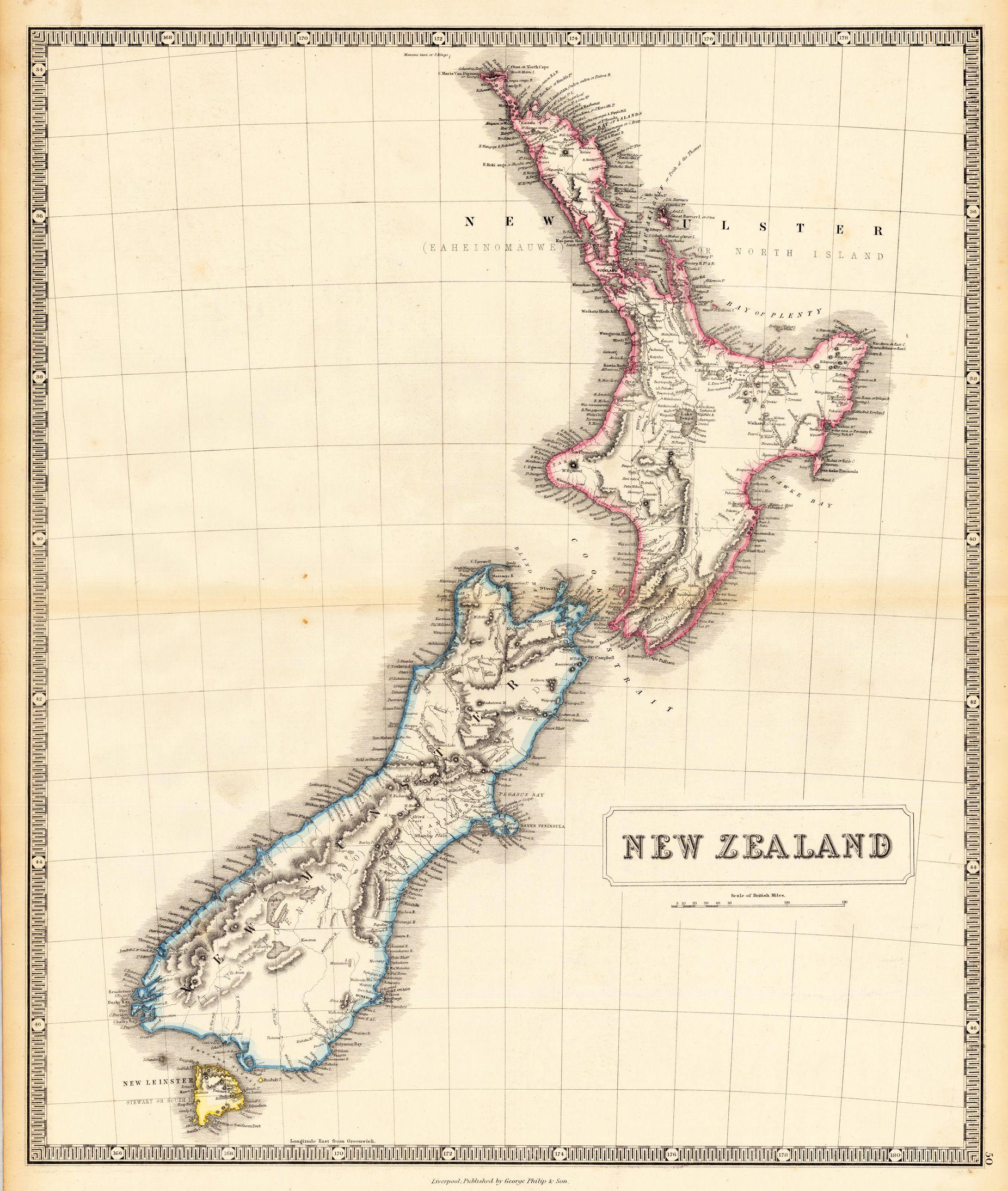 Google Image Result For Http Www Alte Landkarten De Images 18660 01 Jpg New Zealand Tattoo New Zealand Flag Old Maps