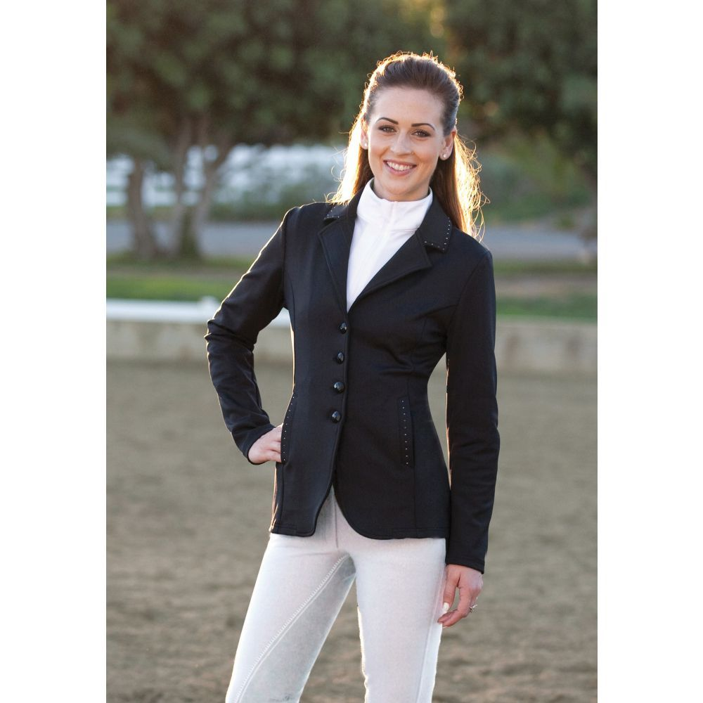 The Romfh Bling Jacket Is The Perfect Fit For The Show Jumper Dressage Rider Or Eventer Who Wants To Add A Subtl Equestrian Outfits Show Jackets Riding Outfit [ 1000 x 1000 Pixel ]