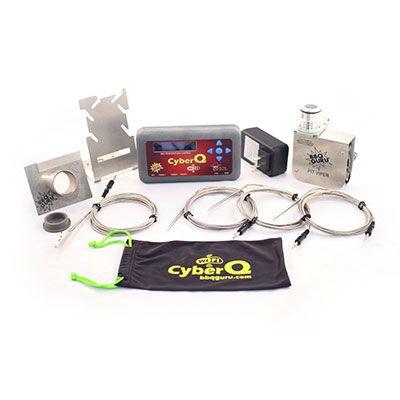 CyberQ Kit w Pit Viper Fan and Ceramic Adaptor | Digital